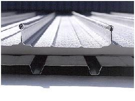 lastre per tetti metallici a bassa pendenza di Megadar