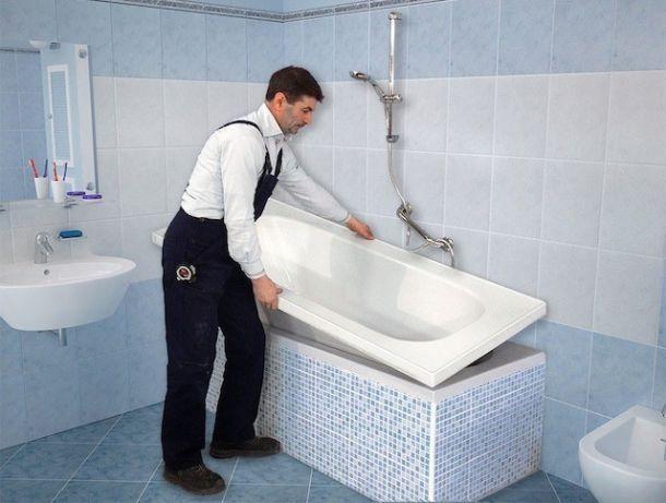 Rinnovare il bagno in una sola giornata - Rinnovare vasca da bagno ...