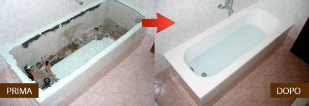 rinnovare il bagno in una sola giornata m2 srl