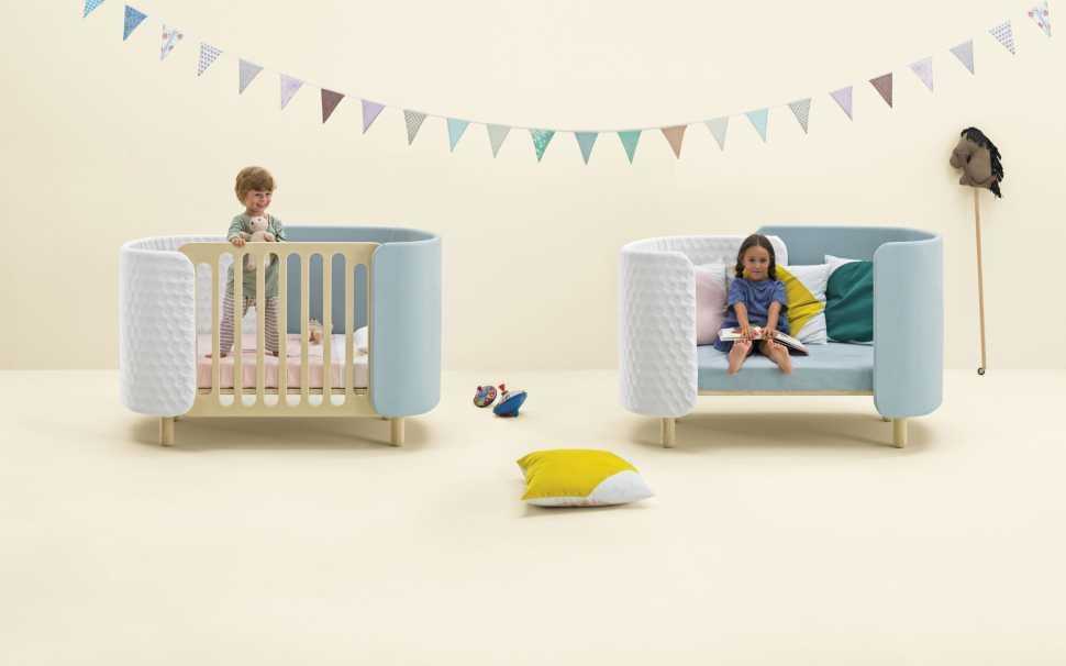 lettino infanzia Convertible Bed Dotandcross