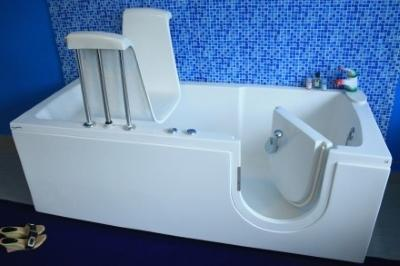Vasca Da Bagno Per Anziani Misure : Trasformazione vasca da bagno per anziani