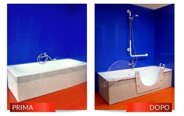 Trasformazione vasca da bagno per anziani - Vasche da bagno per anziani ...