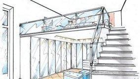 Come progettare una camera da letto su due livelli