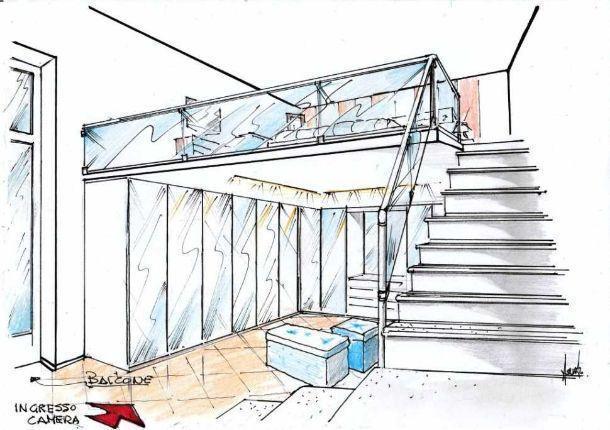 Camera con soppalco come progettarla for Piani casa in stile artigiano 4 camere da letto