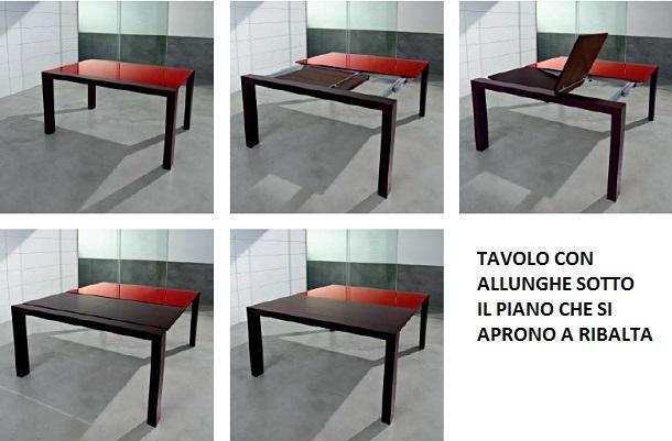 Tavolo fisso e tavolo allungabile: Sicea, Lanai V