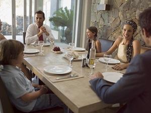 Tavolo fisso e tavolo allungabile