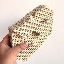 mattoni in ceramica stampati di Emerging Objects