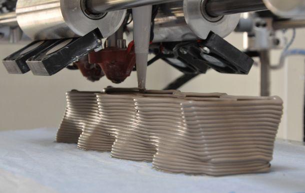 mattoni in ceramica stampati di Building Bytes