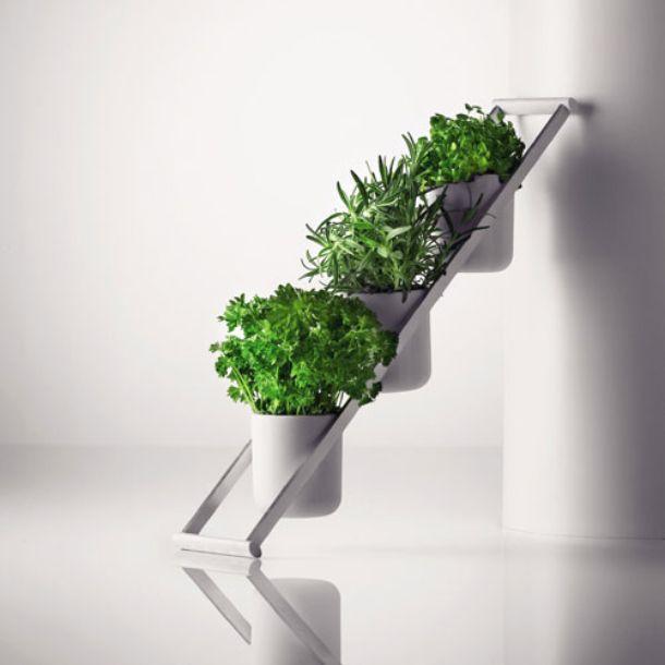 Porta Piante Da Balcone : Contenitori indoor per piante aromatiche
