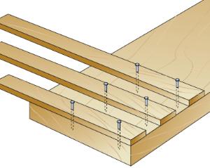 incollare il legno con colla vinilica