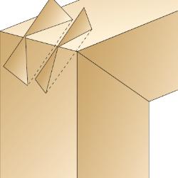 incastri del legno per cornici