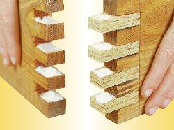 Incastri per il legno for Dima per spine legno fai da te