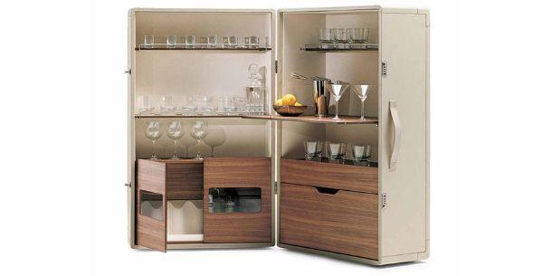 mobile bar Poltrona Frau