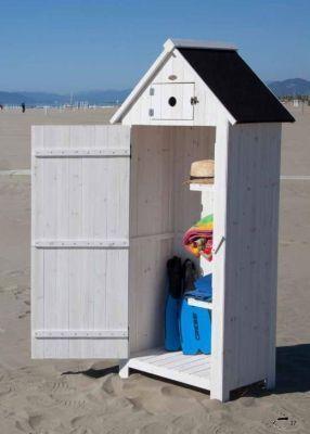 Foto: Armadi per esterno in legno