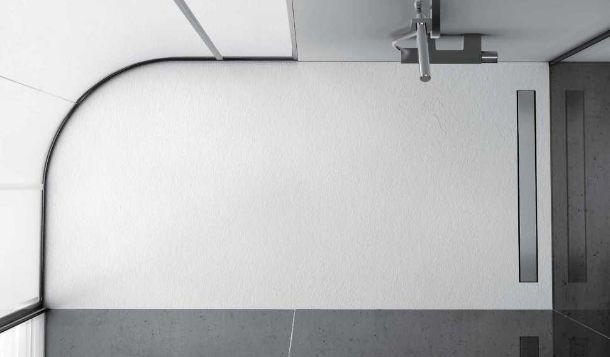 piatto doccia irregolare 70x : Piatto doccia antibatterico e su misura