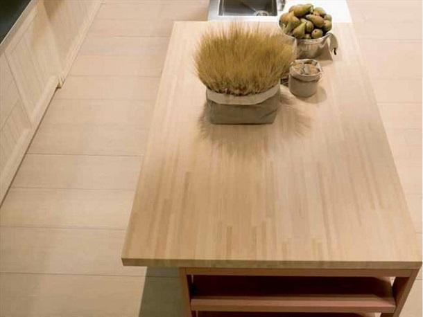 Top da cucina: Piano Top Cucina, Top in legno