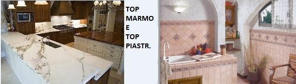 Top da cucina: Piano Top Cucina, Top in marmo e Top piastrellato