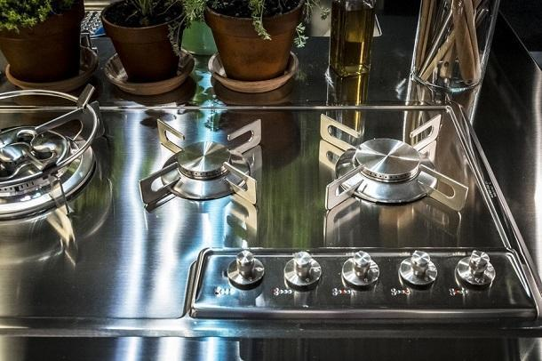 Top da cucina: Alpes Inox, Convivio