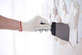 applicazione dello stucco