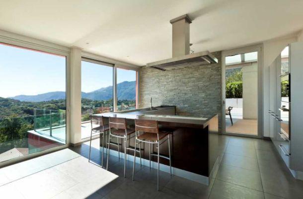 Angolo cottura in veranda: come progettarlo
