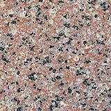 La tipica grana cristallina del granito.
