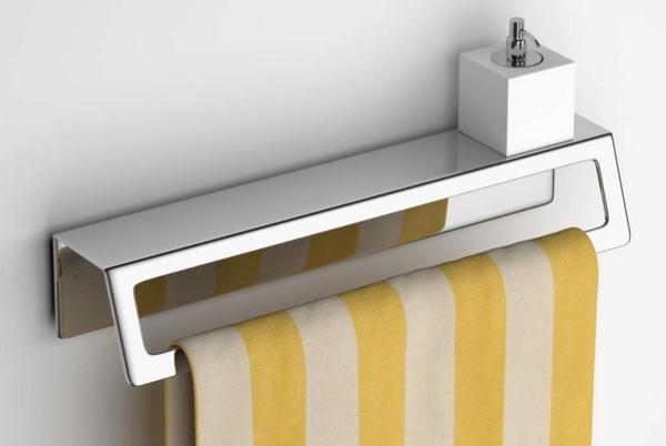 Arredo bagno salvaspazio for Portasalviette bagno design