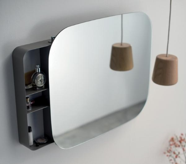 Arredo bagno salvaspazio - Specchi bagno con contenitore ...