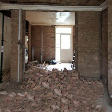 Opere di demolizione interne