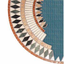 reti in fibra di vetro per supporto mosaici di Gavazzi