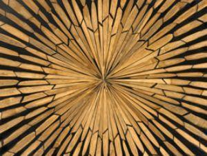 Impiallacciatura con frammenti di legno