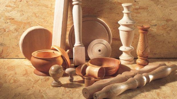 La tornitura del legno