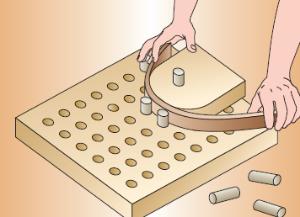 Curvatura del legno for Dima per spine