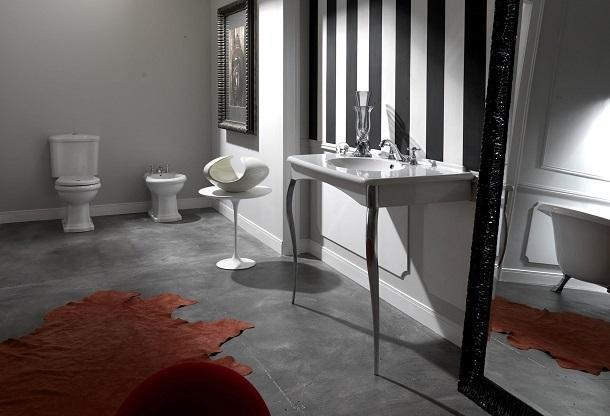 Design e funzionalità in bagno: Kerasan, Retrò