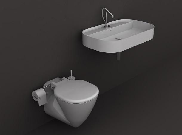 Design e funzionalità in bagno: Galassia, Smart b