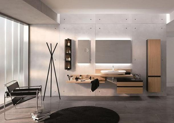 Design e funzionalità in bagno
