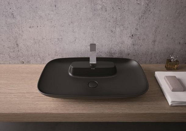 Design e funzionalità in bagno: Vitra, Memoria Black