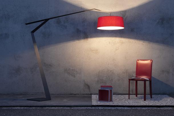 lampada con paralume lumen center italia