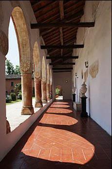 Pavimentazione in cotto del XV° secolo