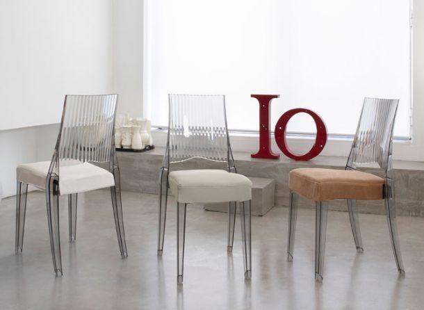 Cuscini per sedie for Sedie particolari da cucina