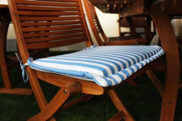 Come Confezionare Un Cuscino Per Sedia.Come Cucire Un Cuscino Per Sedia Con Volant Cuscini Per Sedie Fai