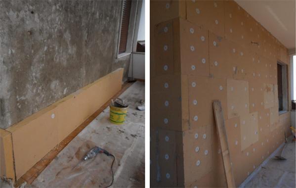 La fibra di legno per l 39 isolamento naturale - Cappotto interno casa ...