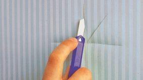 Come riparare la carta da parati danneggiata