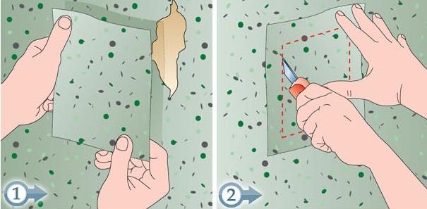 Riparare strappi della tappezzeria