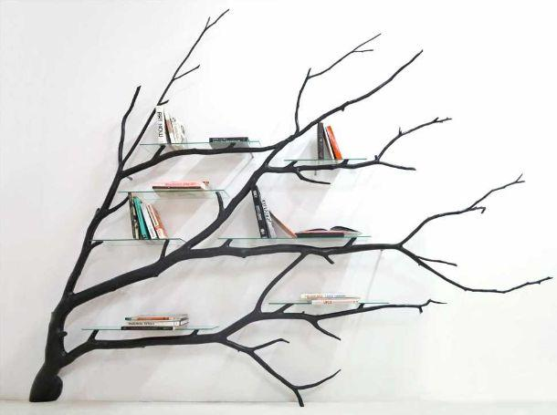 librerie a forma di albero. Black Bedroom Furniture Sets. Home Design Ideas