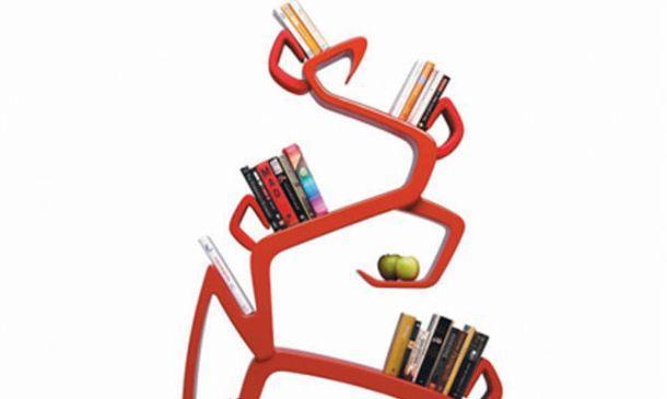 libreria ad albero Milà