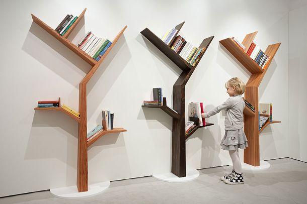 Librerie a forma di albero for Mobili design riproduzioni