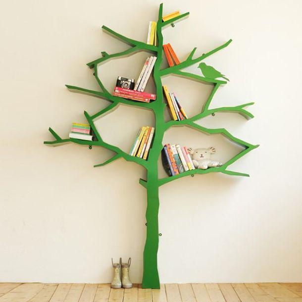 libreria ad albero tree bookshelf