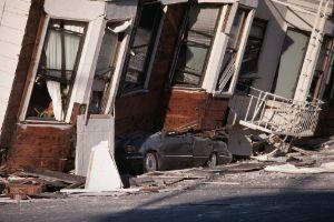 crollo causato da un terremoto