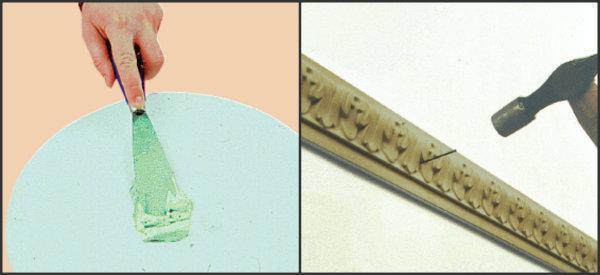 Applicazione modanature decorative
