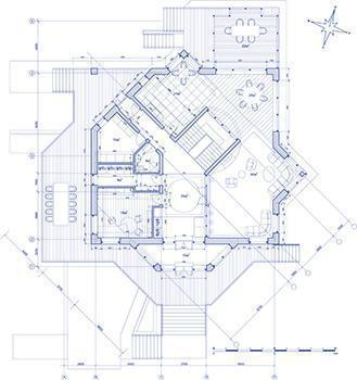 Le planimetrie del progetto definitivo sono complete di quote, superfici e altezza dei vari locali, simbologie e convenzioni grafiche.